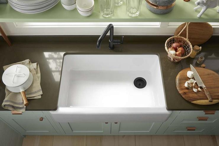 Kohler Farm Sink With Oil Rubbed Bronze Faucet