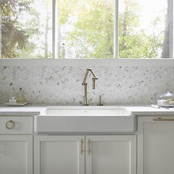 Shallow Kitchen Apron Sink Design Ideas