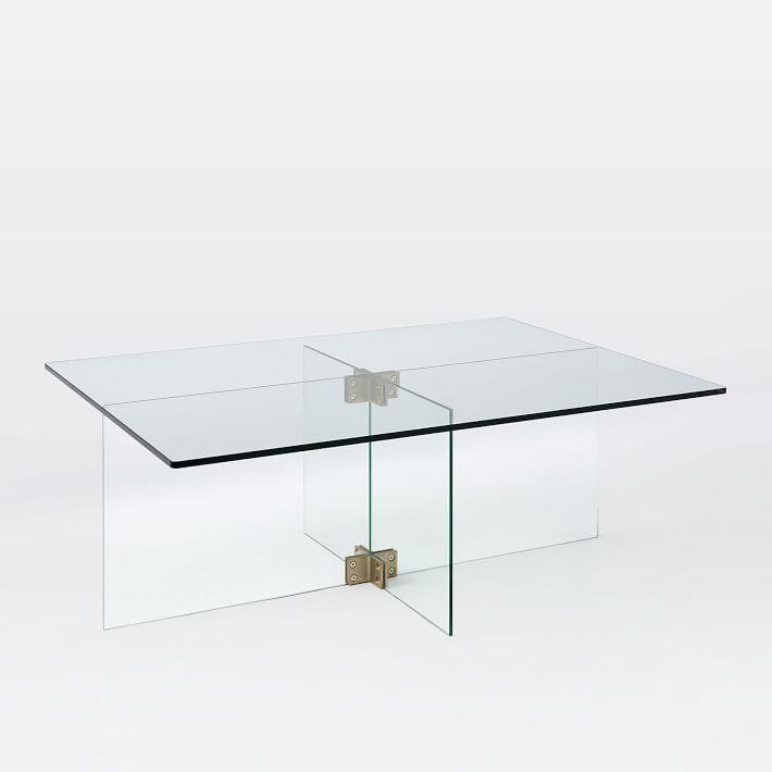 Ikea Coffee Table Millennium Falcon: Bronze Glass Coffee Table