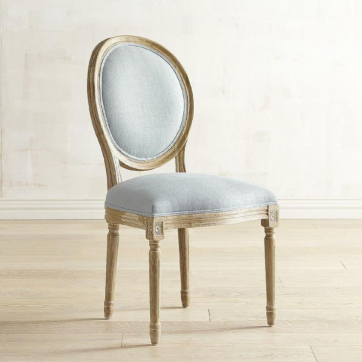 Eliane Light Blue Dining Chair