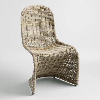 Kubu Rattan Silhouette Molded Chair. Classic Rattan Chair   Products  bookmarks  design  inspiration