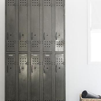 home ballet room with freestanding ballet barres - Locker Designs Ideas