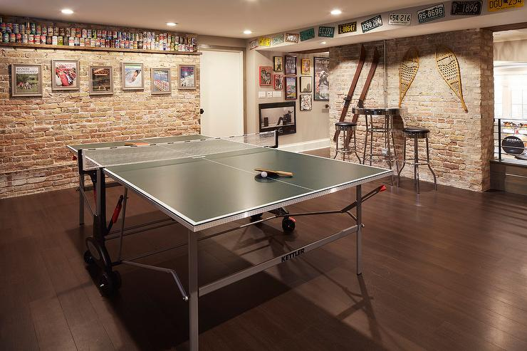 Basement Man Room With Ping Pong Table Pin It On Pinterest View Full Size