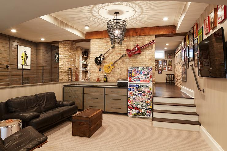 Brick Basement Walls Design Ideas