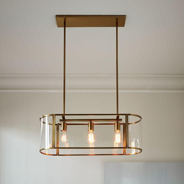 Trough brass chandelier flushmount aloadofball Image collections