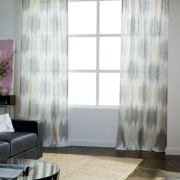 and stralia curtains curtain linen club modern cotton nabla sheer