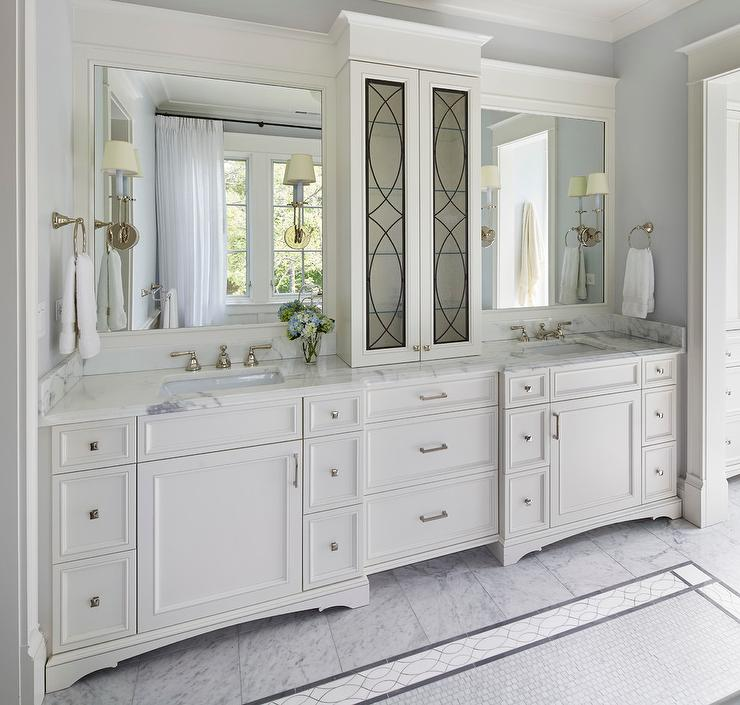 Bathroom Cabinet on Countertop - Transitional - Bathroom