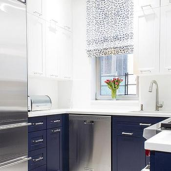 Lilly Bunn Interior White And Blue KItchen Color Scheme