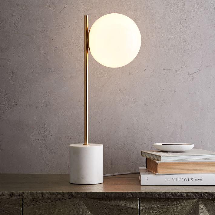 Sphere Stem Table Lamp