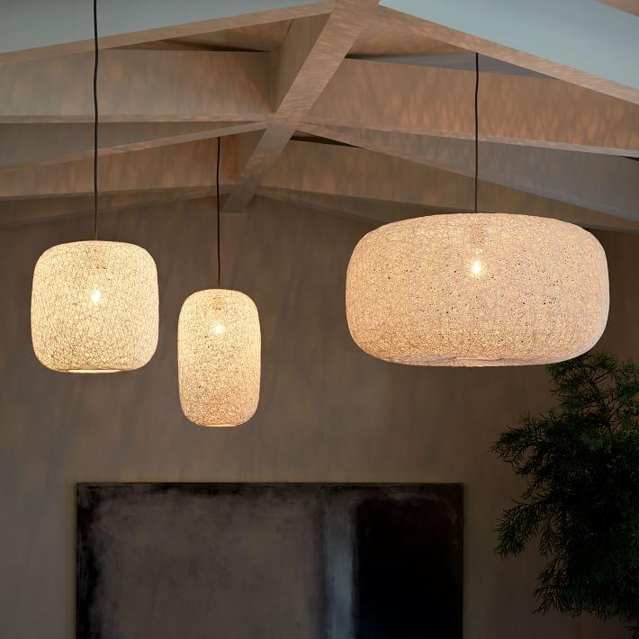 Perfect Open Weave Paper Lantern Pendants CL49