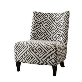 Bailey Accent Chair Geometric Z Gallerie