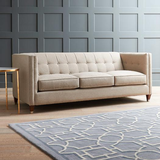 Zentique F143 3 A003 24 25 Alaine Sofa Full Length Couch