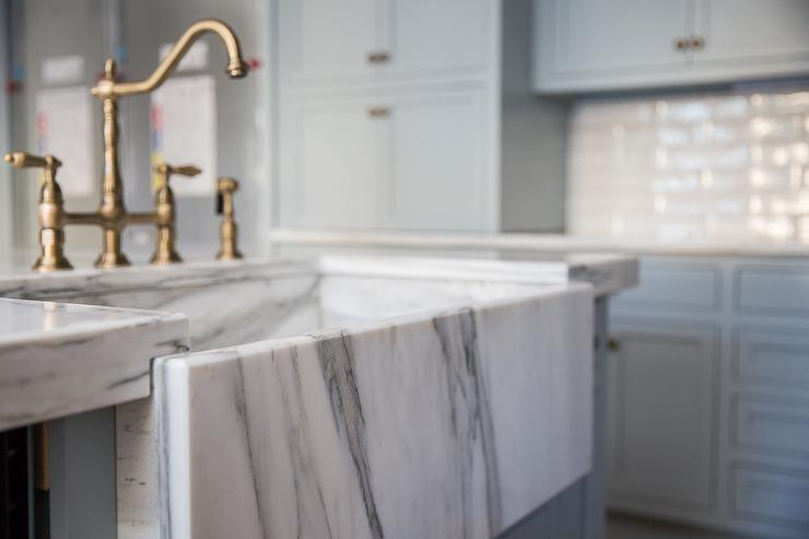 Marble Apron Sink