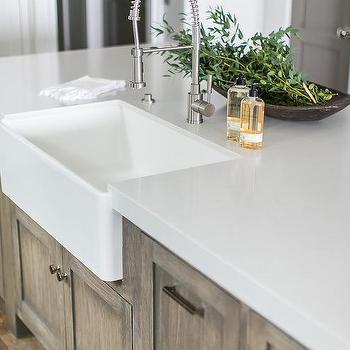 Island Farmhouse Sink Design Ideas
