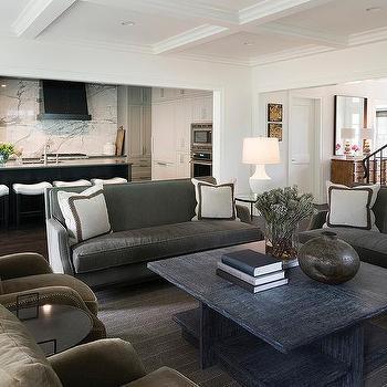 Olive Green Velvet Living Room Chairs Design Ideas