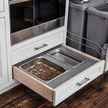 Pull Out Dog Food Drawer Design Ideas