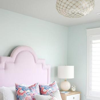 Light Blue Girl Bedroom Paint Colors Design Ideas,Wall Hanging Christmas Tree