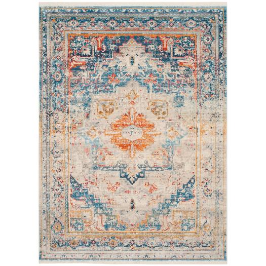 Attractive Rosecrans Cool Warm Weathered Area Rug