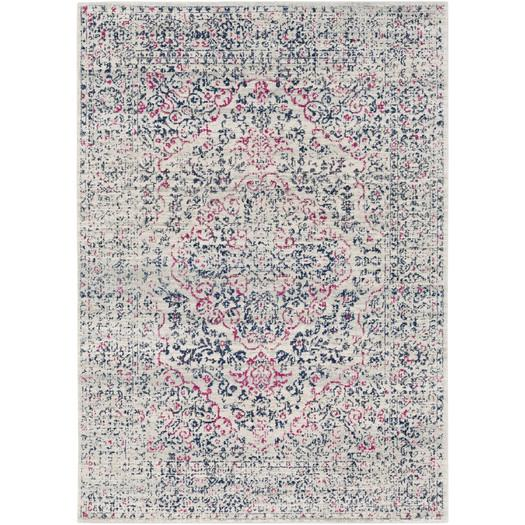 Bungalow Rose Klingle Beige Area Rug