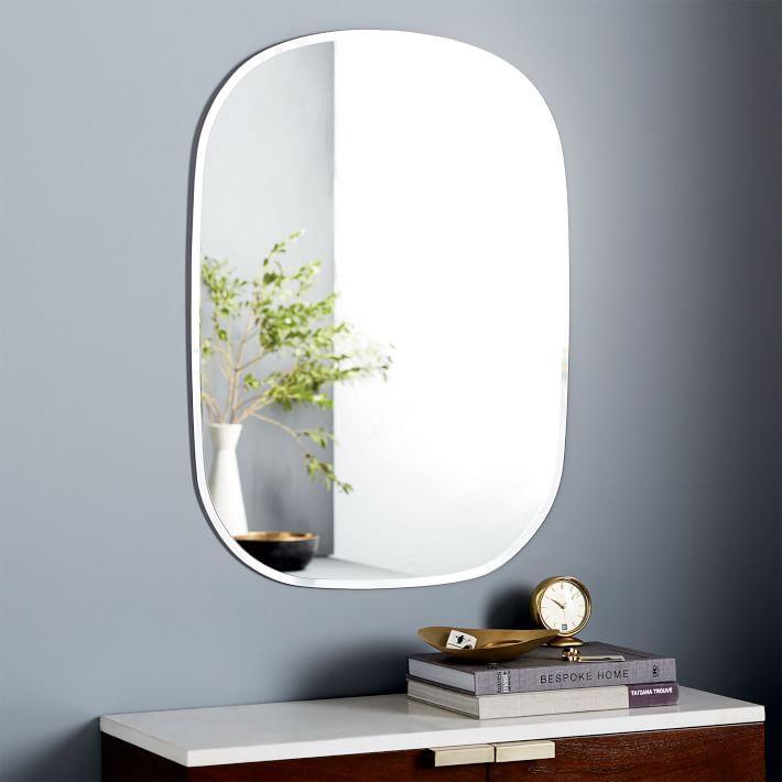 Interior design products bookmarks design inspiration for Frameless rectangular bathroom mirror