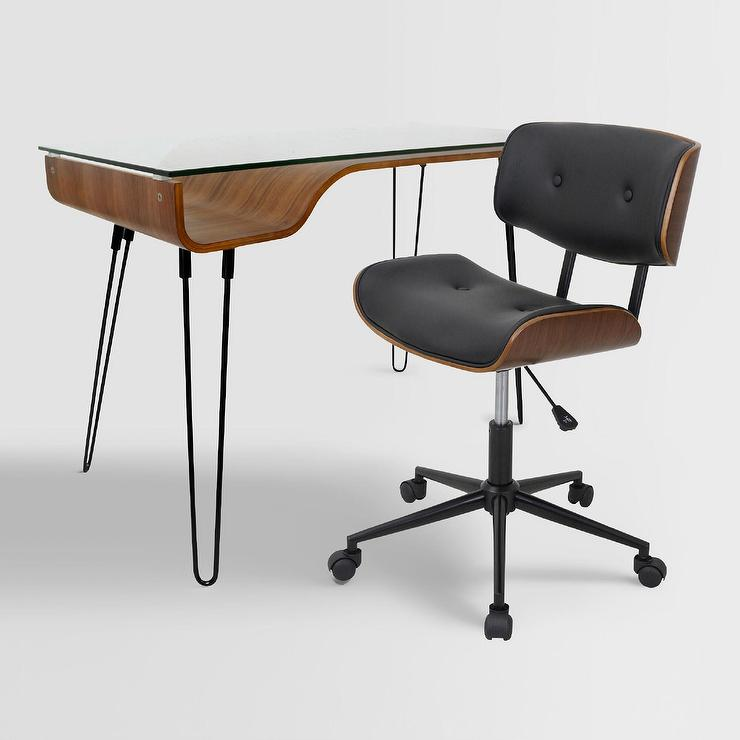 Outstanding Leander Office Desk Chair Collection Pabps2019 Chair Design Images Pabps2019Com