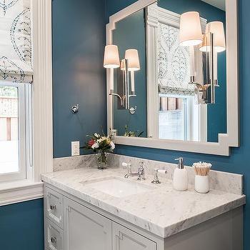Light Gray Bathroom Walls Design Ideas - Bathroom colors that go with gray