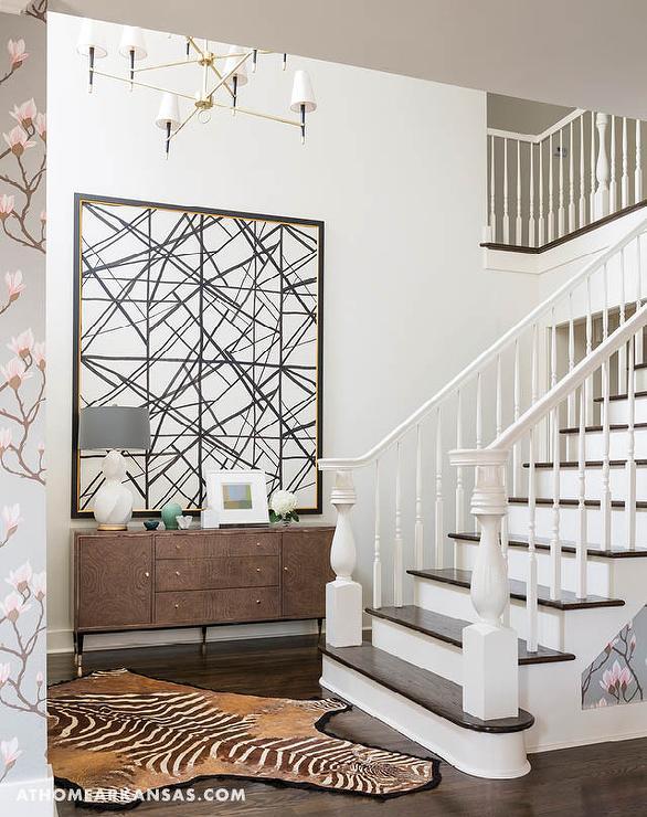 Elegant Modern Foyer : Interior design inspiration photos by at home in arkansas