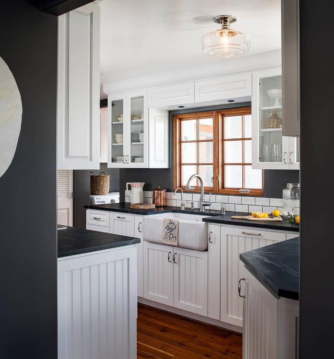 White Beadboard Kitchen Cabinets White Beadboard Kitchen Cabinets   Cottage   Kitchen