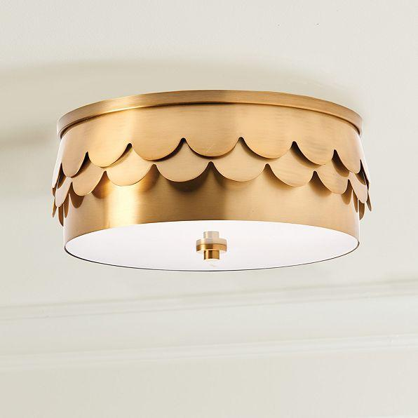 Classic Drum Shape Flush Mount - Products, bookmarks ...