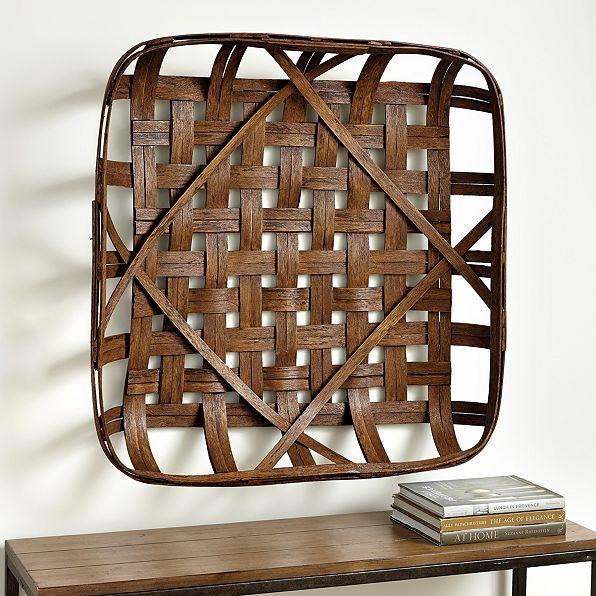 Woven Basket Wall Decor basket wall décor