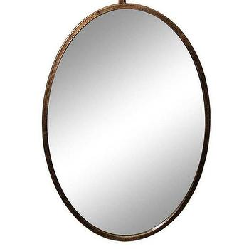 Sagebrook Home Oval Mirror