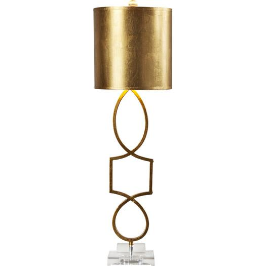 Gold accent table lamp roulers gold accent table lamp mozeypictures Image collections