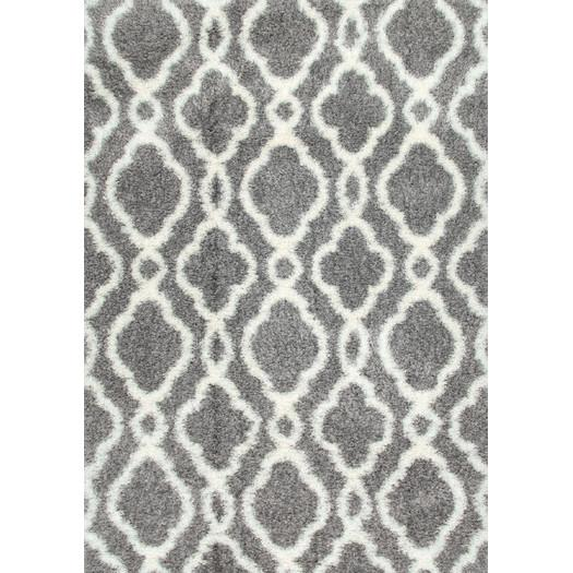 Courtyard Poolside Dark Grey/ Beige Indoor Outdoor Rug (5