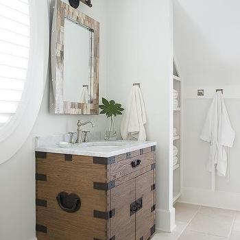 Bathroom alcove shelves design ideas for Bathroom alcove ideas