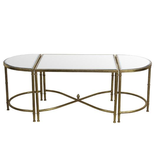 malonne 3 piece infinite coffee table set