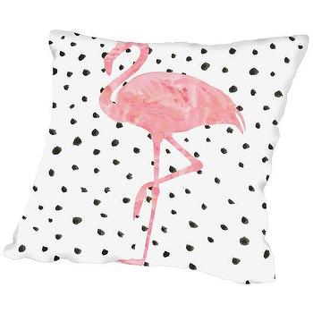 The Emily And Meritt Black And White Heart Sequin Pillow