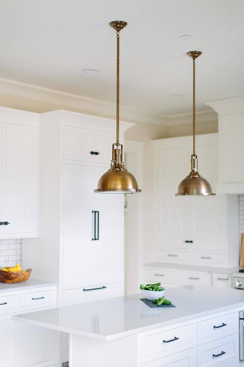 Antique Brass Island Pendants Design Ideas