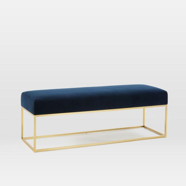 Napoleon Navy Blue Bench