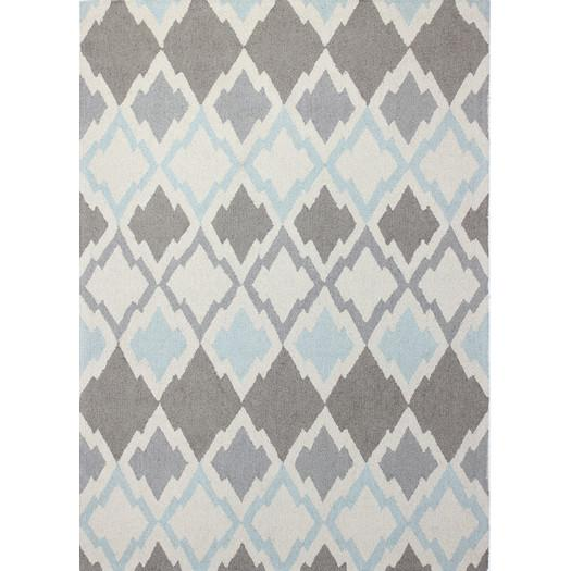hand tufted light ivory grey area rug
