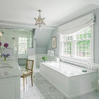Wainscot Trim on Bathtub Under Window