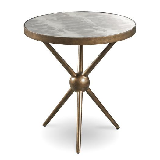Cushendall Round Brass End Table