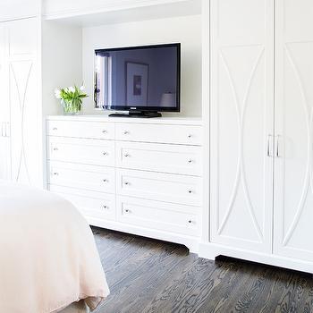 Built In Dresser With Tv Design Ideas