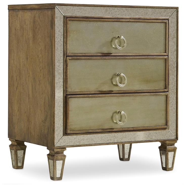 Redford House Fiona Grey Nightstand