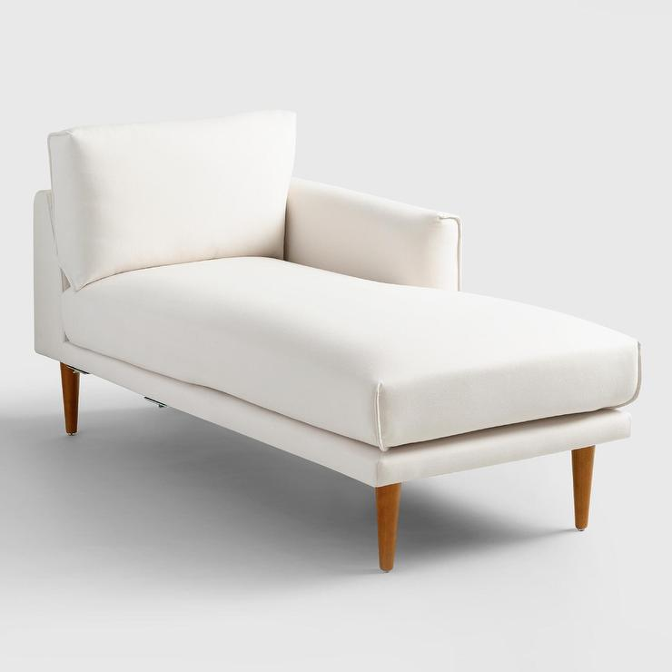 Astounding Ivory Nica Right Arm Facing Chaise Lounge Beatyapartments Chair Design Images Beatyapartmentscom