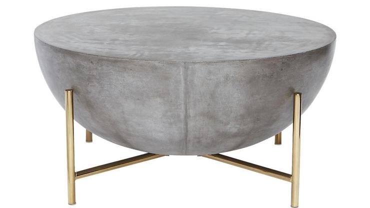 Fuze Gray Cement Bistro Table