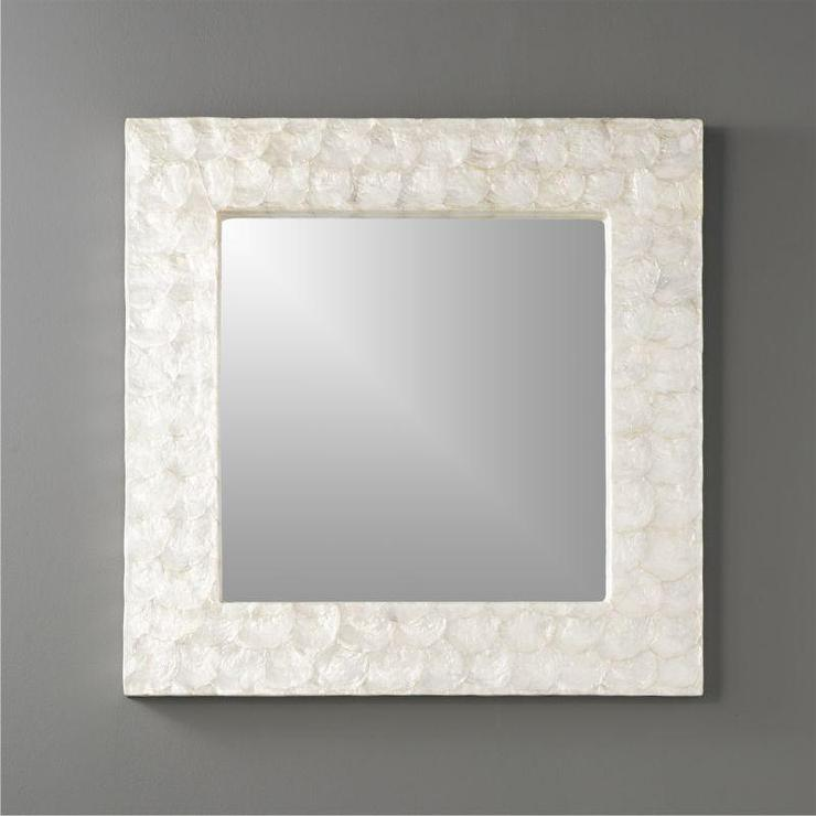 Selah Mother Of Pearl Mirror