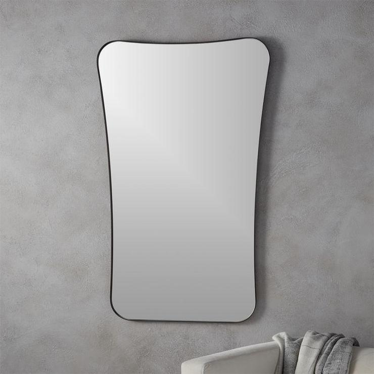 Mirrors products bookmarks design inspiration and for Long thin decorative mirrors