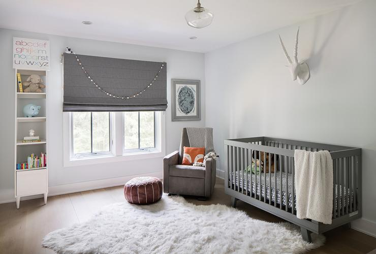 Rope Hanging Crib Suspended From The Ceiling