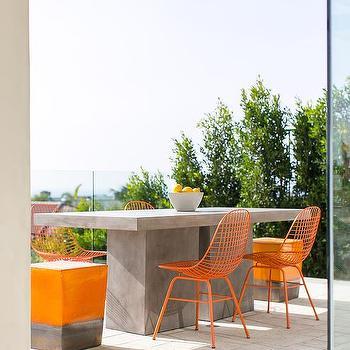 Metal Dining Chairs Design Ideas