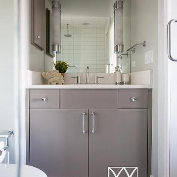 White Doors With Oil Rubbed Bronze Hardware